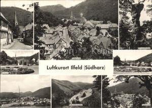 Ilfeld Suedharz Obertor Teilansicht Gaenseschnabel Kurpark Kuranlagen Teilansicht Brandenbachtal Kat. Ilfeld Suedharz