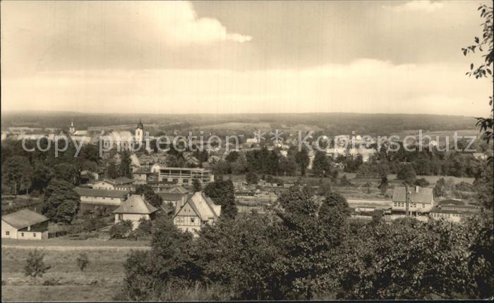 Hildburghausen Ortsansicht  Kat. Hildburghausen