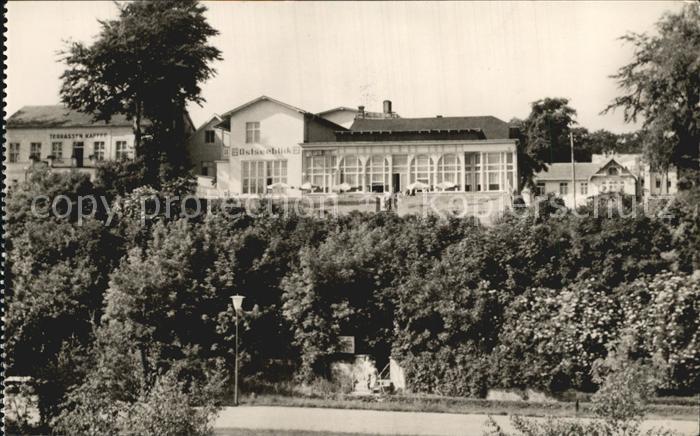 Heringsdorf Ostseebad Usedom FDGB Erholungsheim Ostseeblick  Kat. Heringsdorf