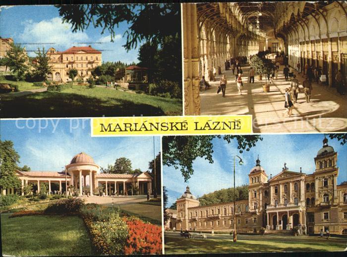 Marianske Lazne Kurhaus Kolonnade Rudolphsquelle Kat. Marienbad