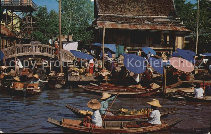 Bangkok Floating Market Kat. Bangkok
