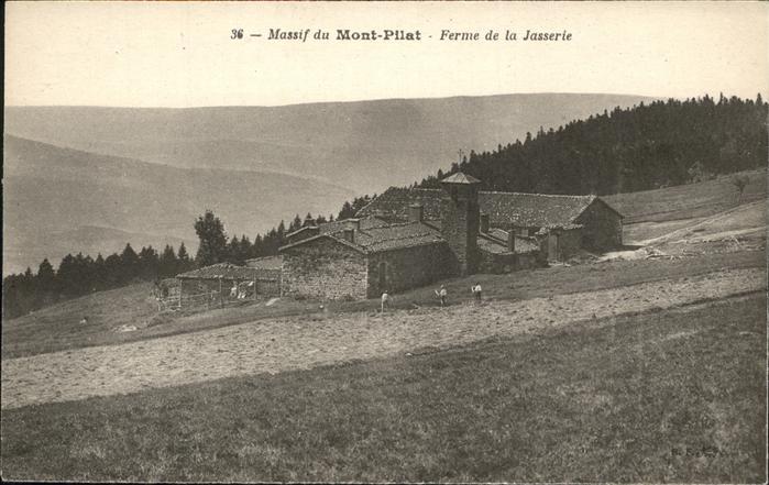 Mont Pilat  Loire Ferme de la Jasserie / Graix /Arrond. de Saint-Etienne