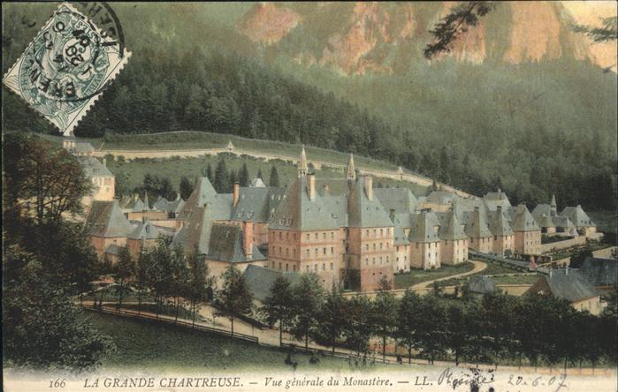 Saint-Pierre-de-Chartreuse Isere la Grande Chartreuse / Saint-Pierre-de-Chartreuse /Arrond. de Grenoble