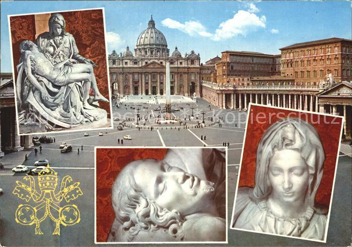 Vatican Saluti dalla Citta del Vaticano Veduta parziale Kat. Vatican