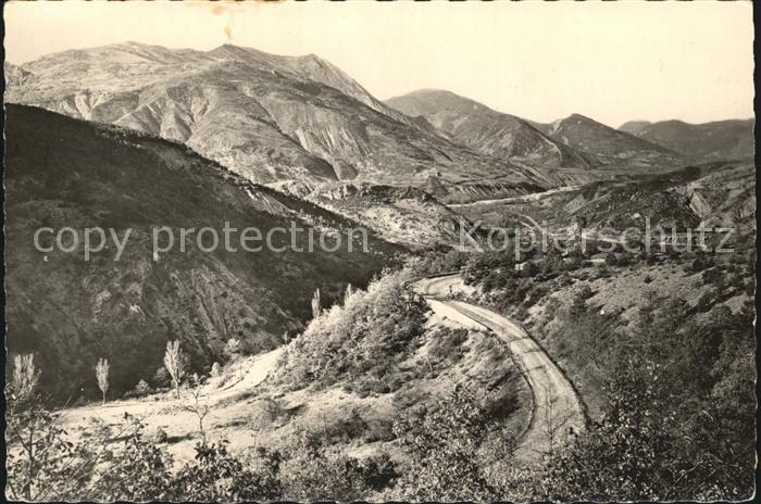 Digne les Bains La Route Napoleon de Castellane Kat. Digne les Bains
