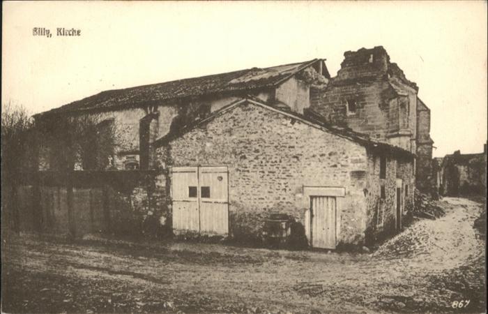 Billy-Montigny Kirche Zerstoerung x / Billy-Montigny /Arrond. de Lens