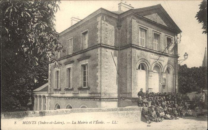 Monts d Indre-et-Loire Monts Mairie Ecole * / Monts /Arrond. de Tours