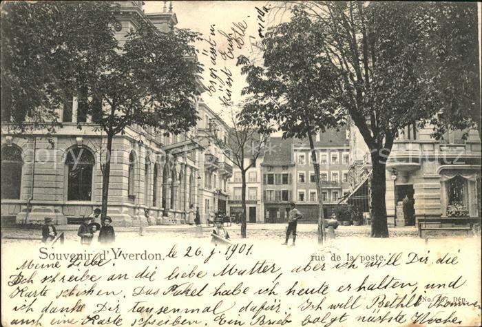 Yverdon VD Rue de la poste / Yverdon /Bz. Yverdon