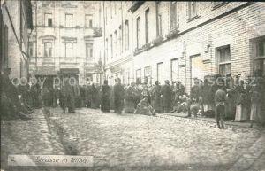 Wilna Wilno Strasse in Wilna / Vilnius /
