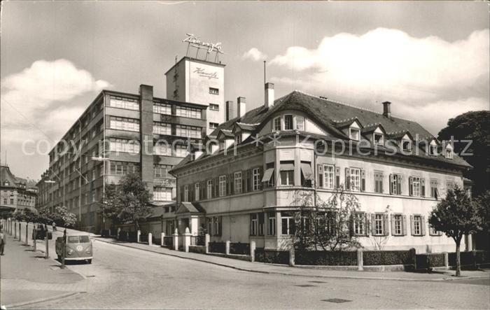Schwenningen Neckar Kienzle-Uhrenfabrik / Villingen-Schwenningen /Schwarzwald-Baar-Kreis LKR