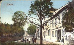 Holice Gebaeude Schule  / Holice /Pardubice
