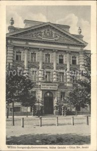 Wilna Wilno Georgstrasse Gouvernement  / Vilnius /
