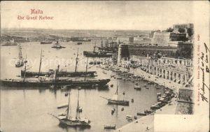 Malta The Grand Harbour General View / Malta /