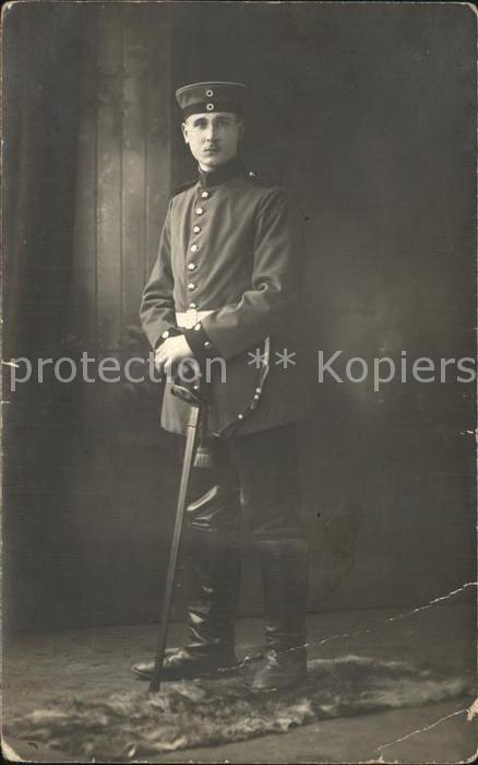 Regiment DR 006 Dragoner Portrait Dragoner Weltkrieg 1 / Mainz Rhein /Mainz Stadtkreis