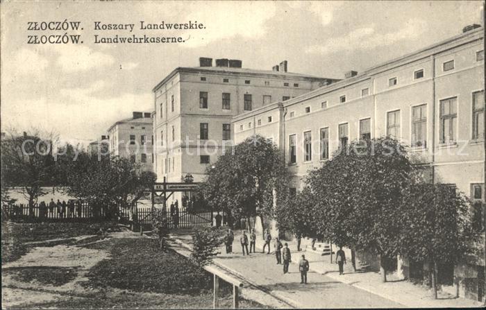 Zloczow Landwehrkaserne / Polen /