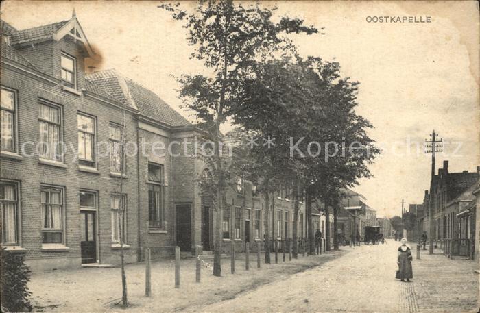 Oostkapelle Dorfstrasse / Niederlande /