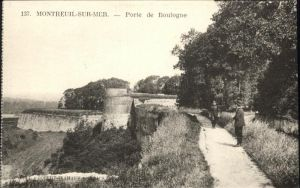 Montreuil sur Mer Porte de Boulogne / Montreuil Pas-de-Calais /Arrond. de Montreuil
