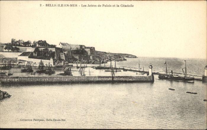 Belle-Ile-en-Mer Belle-Ile Hafen Schiff * / Ile breton Atlantique /