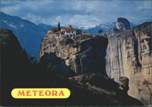 Meteora Meteora Monastery Holy Trinity Kloster Aghia Trias x / Kalambaka /