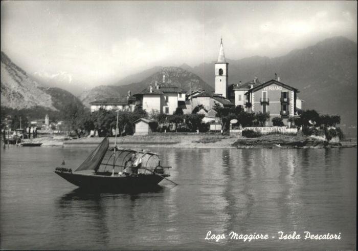 Isola Pescatori Isola Pescatori Boot * / Isola dei Pescatori Lago Maggiore /