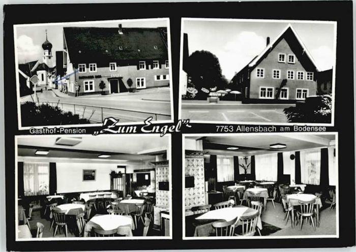 Allensbach Bodensee Allensbach Gasthof Pension Zum Engel x / Allensbach Bodensee /Konstanz LKR