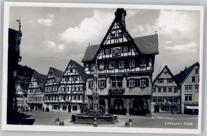 Urach Bad Urach Brunnen * / Bad Urach /Reutlingen LKR