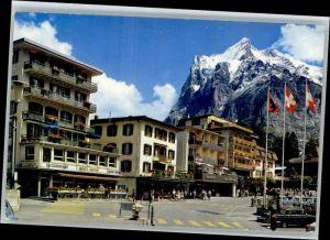 Grindelwald Grindelwald Hotel Kreuz Wetterhorn x / Grindelwald /Bz. Interlaken