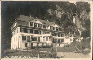 Meiringen BE Meiringen  x / Meiringen /Bz. Oberhasli