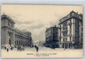 Genf GE Genf Hotel de Genf et du Bresil * / Genf /Bz. Geneve City