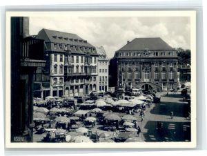 Bonn Rhein Bonn Marktplatz Rathaus * / Bonn /Bonn Stadtkreis