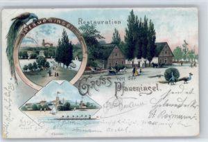 Potsdam Potsdam [Stempelabschlag] Pfaueninsel x / Potsdam /Potsdam Stadtkreis