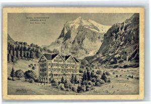 Grindelwald Grindelwald Hotel Schweizerhof x / Grindelwald /Bz. Interlaken