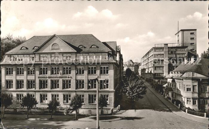 Schwenningen Neckar Kienzle-Uhrenfabriken A.G. / Villingen-Schwenningen /Schwarzwald-Baar-Kreis LKR
