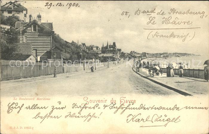 Le Havre Boulevard Maritime / Le Havre /Arrond. du Havre