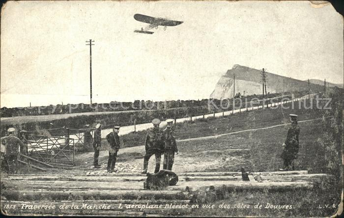 Douvres Dover Aeroplane Bleriot traversee de la Manche / Dover /Kent CC