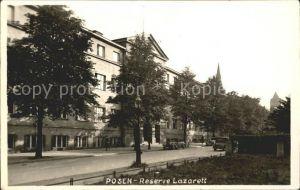 Posen Poznan Reserve Lazarett / Poznan /
