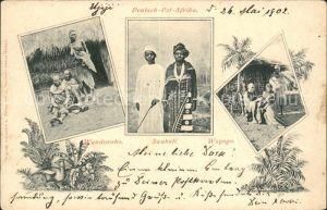Deutsch-Ostafrika Wandorobo Suaheli Wagogo / Deutsch-Ostafrika /