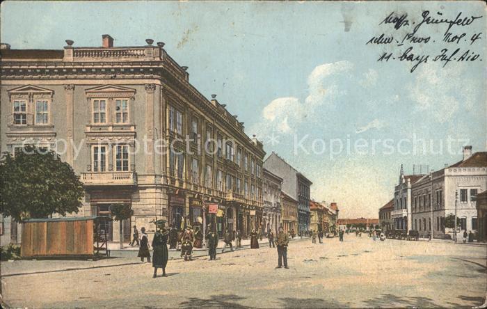 Versecz Hauptplatz / Serbien /