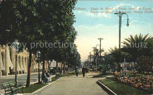 Habana Havana Paseo de Marti o Prado frente al Pasaje Hotel / Havana /