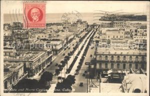 Habana Havana Prado and Morro Castle Stempel auf AK / Havana /