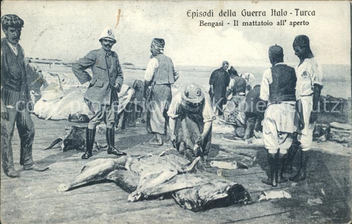 Bengasi Episodi della Guerra Italo Turca / Libyen /