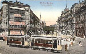 Baden-Baden Leopoldsplatz Strassenbahn / Baden-Baden /Baden-Baden Stadtkreis