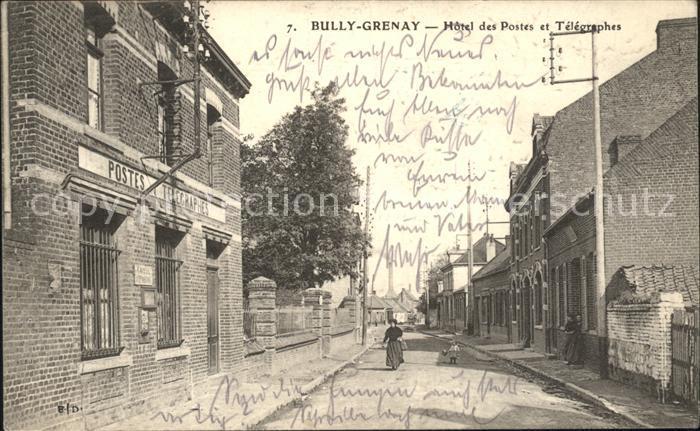 Bully Grenay Hotel des Postes et Telegraphes / Bully-les-Mines /Arrond. de Lens