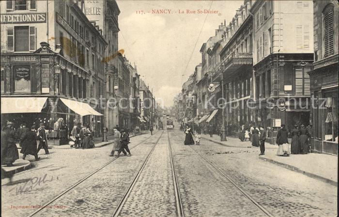 Nancy Lothringen Rue St Dizier / Nancy /Arrond. de Nancy