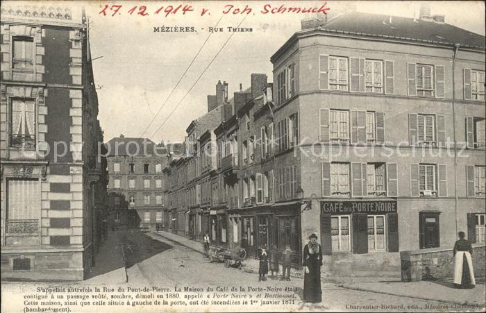 Mezieres-Charleville Rue Thiers / Charleville-Mezieres /Arrond. de Charleville-Mezieres