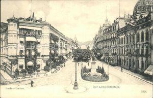 Baden-Baden Leopoldsplatz Hotel Victoria / Baden-Baden /Baden-Baden Stadtkreis