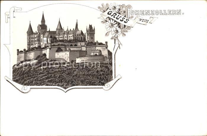 Hohenzollern Burg Hohenzollern / Hechingen /Zollernalbkreis LKR
