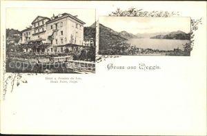 Weggis LU Hotel Pension du Lac / Weggis /Bz. Luzern
