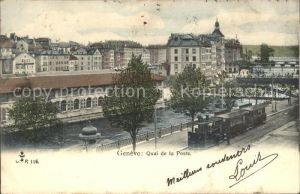 Genf GE Quai de la Poste / Genf /Bz. Geneve City