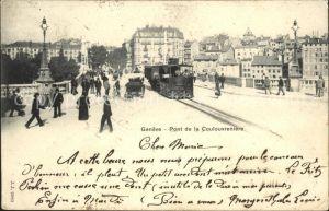 Genf GE Pont de la Coulouvreniere / Genf /Bz. Geneve City